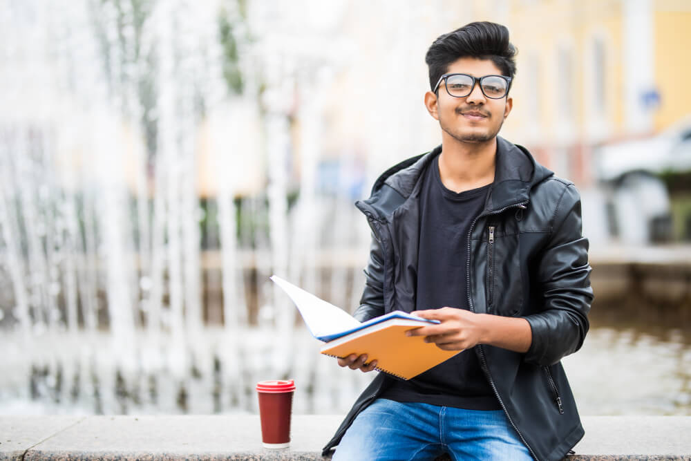 Indian student doing MBA in USA